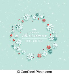merry christmas elegant greeting design background