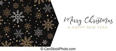 Merry Christmas festive vector design template illustration