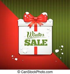 Merry Christmas gift box sale