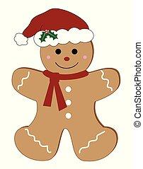 Merry Christmas Gingerbread Man