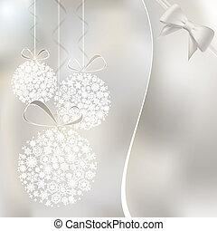Merry Christmas greeting card. Vector eps10 illustration