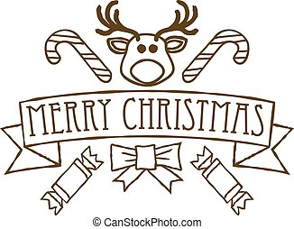 Merry Christmas Greetings Design