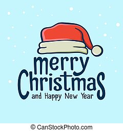 Merry Christmas Greetings With Sant