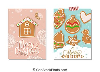 Merry Christmas Happy Holidays Greeting Poster