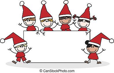 merry christmas header children