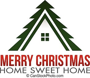 Merry Christmas Home Logo