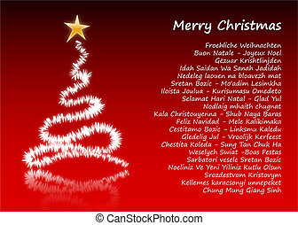 Merry Christmas in 31 different languages
