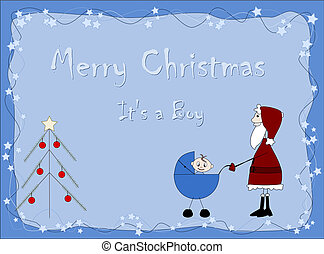 Merry Christmas - It`s a boy