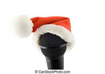 merry christmas microphone