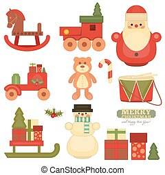 Merry Christmas Objects