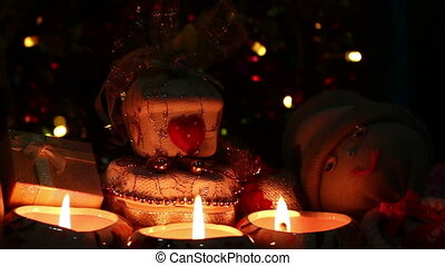 merry christmas of candlelight