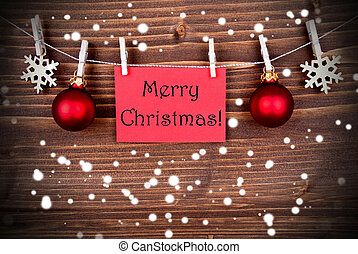 Holiday greetings stock photo images 925770 holiday greetings snowy christmas greetings merry christmas on a red banner m4hsunfo