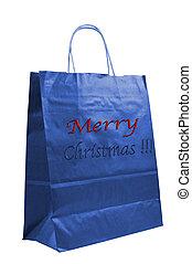 Merry Christmas paper bag