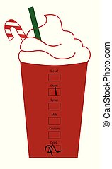 Merry Christmas Peppermint Coffee