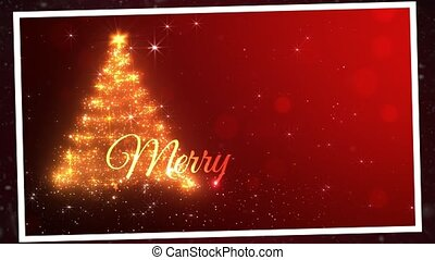 Merry Christmas  postcard - Merry Christmas postcard