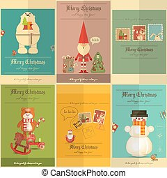 Merry Christmas Posters - Merry Christmas - New Year Mini...