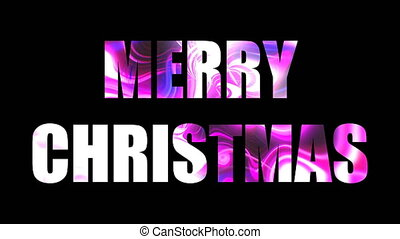 Merry christmas shiny bright text, 3d render background,...