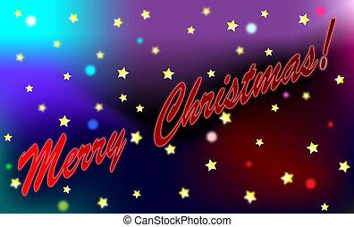 merry christmas shooting star comet