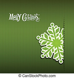 Merry Christmas Snowflakes paper