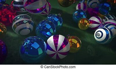 """Merry Christmas sparkling balls"""