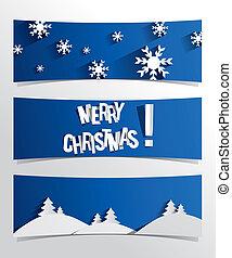 merry christmas, standarta