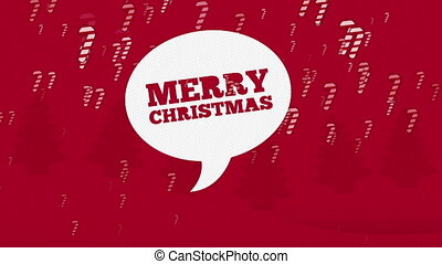 Merry Christmas Animation, HD 1080