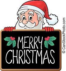 Merry Christmas subject image 3 - eps10 vector illustration.