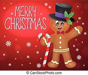 Merry Christmas subject image 4 - eps10 vector illustration.