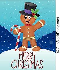 Merry Christmas subject image 5 - eps10 vector illustration.