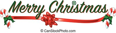Merry Christmas Text - Colorful text with images that says ...
