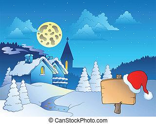 Merry Christmas theme 2 - vector illustration.