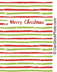 Merry Christmas. Vector card, sketchbook cover