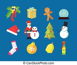 Merry Christmas Vector Graphic Pack
