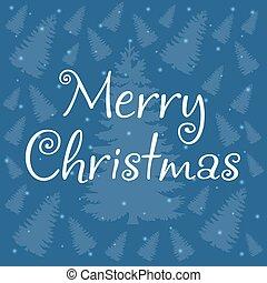 Merry Christmas vintage design greeting card background, vector illustration