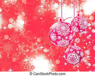 Merry Christmas with stars, bokeh lights. EPS 8