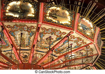 Merry-go-Round Details - Image of part of a merry-go-round...