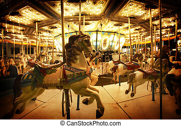 merry-go-round - Fun fair carousel
