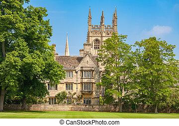 Merton College. Oxford, England