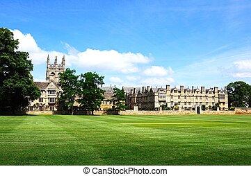 Merton College, Oxford.