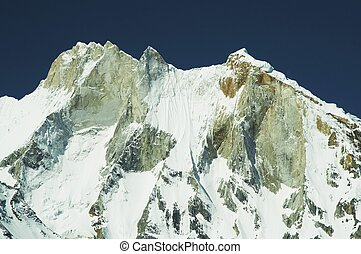 Meru peak in Himalayans mountain