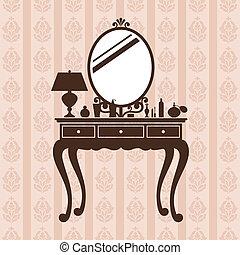 mesa., aliño
