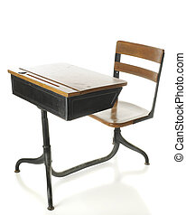 mesa antique escola