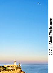 Mesa Roldan lighthouse, Cabo de Gata, Spain