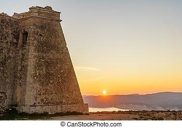Mesa Roldan tower, Cabo de Gata Spain