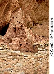 Mesa Verde - Cliff Ruin Stock Image