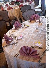 mesas, boda