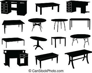 mesas, colección
