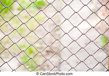 mesh a fence background