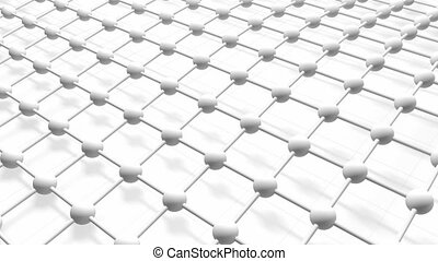 Mesh and netting background - Abstract wave motion.physics...