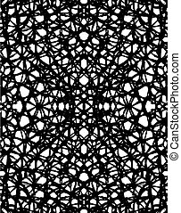 Mesh - Abstract editable vector background of a net pattern